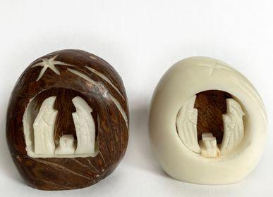 Décorations de Noël - Crèche en ivoire végétal - TAGUA AND CO