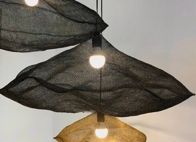 Outdoor hanging lights - Hanging cloud metal black - FLOATING HOUSE COLLECTION