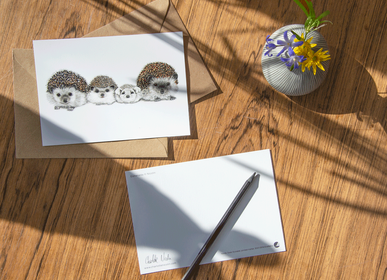 Stationery - Art cards with envelopes multi-sizes - CHARLOTTE NICOLIN