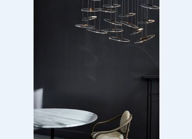 Objets design - Suspension moonlight murmuration 20 drops  - OCHRE