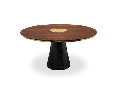 Dining Tables - Bertoia Dining Table - CAFFE LATTE