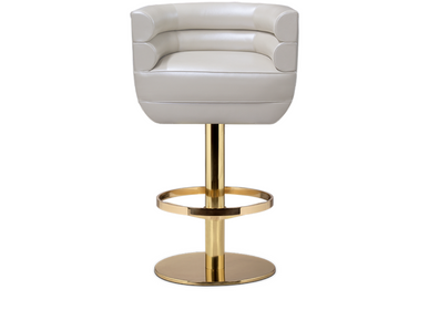 Seats - Loren Bar Chair - CAFFE LATTE