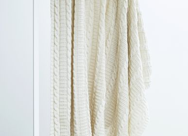 Throw blankets - pyne merino wool balnket - LINOO