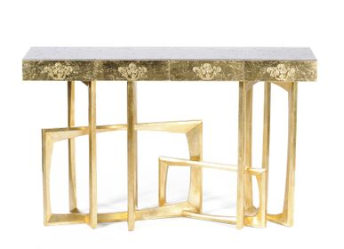 Console tables - Golden METROPOLIS Console Table - BOCA DO LOBO
