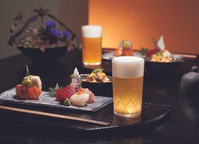 Verres - Verre haut de gamme et durable «USURAI CUT» au design traditionnel japonais - TOYO-SASAKI GLASS