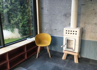Kitchens furniture - MINI STACK - wood burning stove - LA CASTELLAMONTE