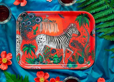 Trays - Lost World tray tablemat - JAMIDA OF SWEDEN