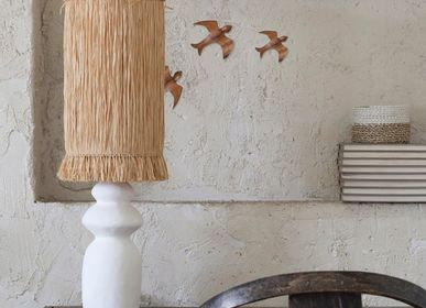 Ceramic - Fringes Table Lamp - MAHE HOMEWARE