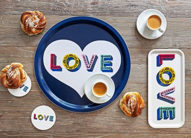 Trays - LOVE - Trays - Coasters - Mugs - JAMIDA OF SWEDEN