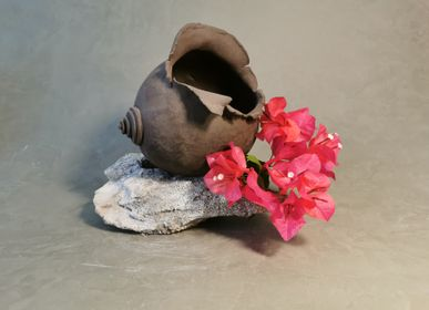 Floral decoration - sculpture / vase / Lampe d'ambiance - CATHY ASTOLFI