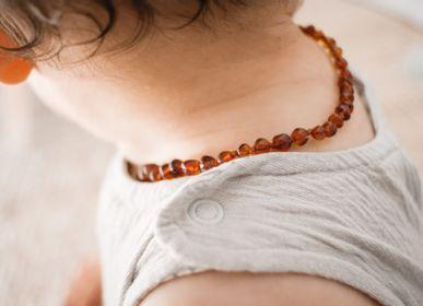 Bijoux - Collier ambre bébé - Cognac - IRRÉVERSIBLE