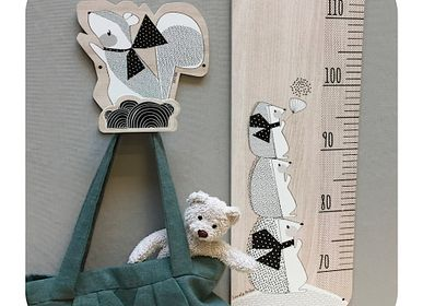 Other wall decoration - WOODEN HOOKS FOR CHILDREN'S CLOTHES - LOVELY TRIBU DECORATION