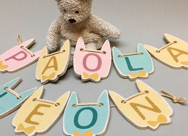 Other wall decoration - Decoration child - Alphabet first name - LOVELY TRIBU DECORATION