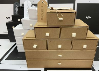 Storage boxes - STORAGE BOX KRAFT RECYCLED PACKAGING - SHUN SUM GROUP LTD.