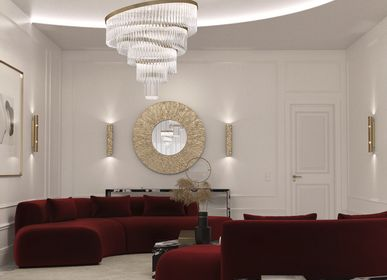 Chambres d'hôtels - Suspension royale - CASTRO LIGHTING