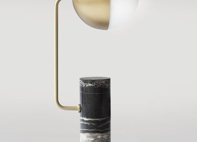 Decorative objects - ANOTHER – TABLE LAMP - SQUARE IN CIRCLE STUDIO