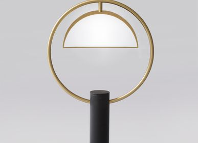 Chambres d'hotels - HALF IN CIRCLE – TABLE LAMP - SQUARE IN CIRCLE STUDIO