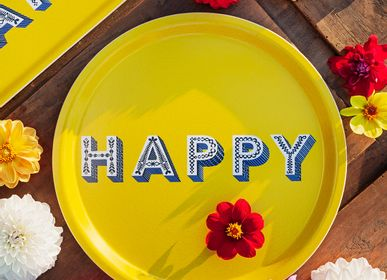 Trays - Happy - Trays - coaster - JAMIDA OF SWEDEN