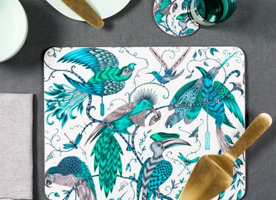 Table mat - Audubon/green - Tablemats - Trays - placemats - coaster - JAMIDA OF SWEDEN
