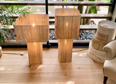 Lampes à poser - Lampe-double Champignon - L'ATELIER DES CREATEURS