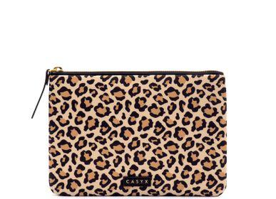 Pochettes - Grande pochette : Sand Leopard - CASYX