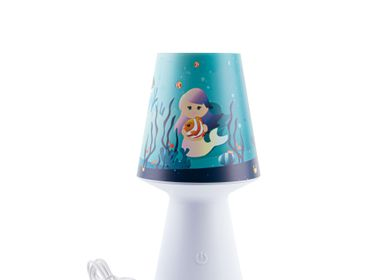 Children's decorative items - Nightlight, LED nomadic lamp, children's room decoration - J'VAIS L'DIRE À MA MÈRE !