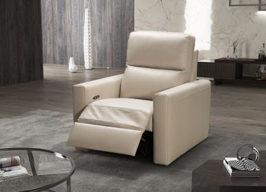 Leather goods - VERA - RELAX ARMCHAIR - MITO HOME BY MARINELLI