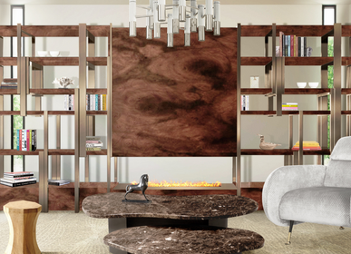 Furniture and storage - Caffeine Bookcase - CAFFE LATTE
