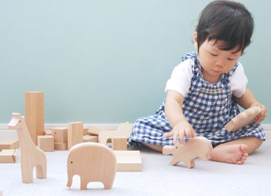 Toys - Zoo - baby - wooden toys - - SUNAOLAB.