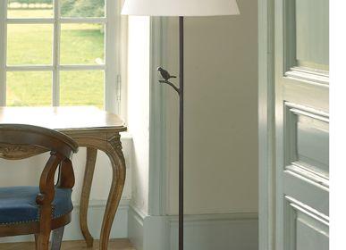 Hotel bedrooms - PLUME Floor lamp - OBJET INSOLITE