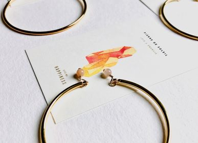 Jewelry - Golden Sunstone Bangle - GIVE ME HAPPINESS