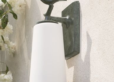 Hotel rooms - PLUME Outdoor sconce - OBJET INSOLITE