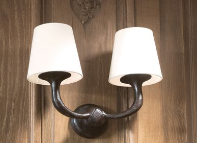 Hotel bedrooms - VICTOR Wall lamp - OBJET INSOLITE