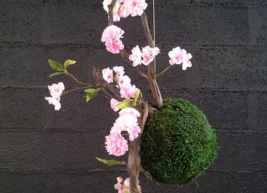Party decorations - Kokedama - DECO-NATURE