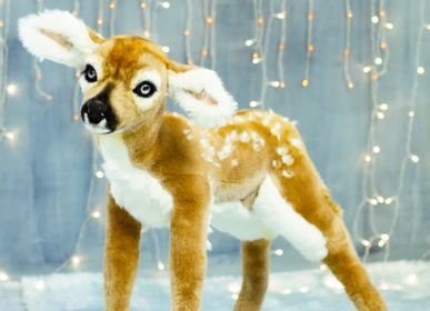 Other Christmas decorations - Little Fawn Christmas Deer Decoration for home, shop windows, shopping center, hotels. Bambi - KATERINA MAKOGON