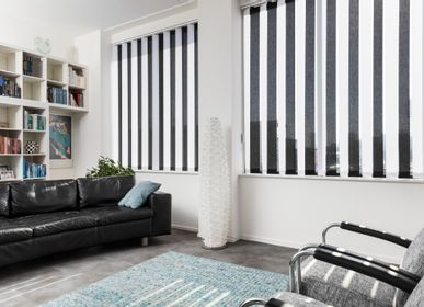 Curtains and window coverings - JASNO SWINGS - Californian vertical strip blinds with 3D effect - JASNO