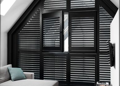 Wine accessories - JASNO SHUTTERS - interior shutter with swivel blinds in glass roof and light well - JASNO
