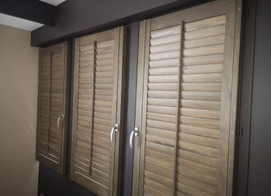 Curtains and window coverings - JASNO SHUTTERS - interior shutter with adjustable blinds applied on window or door openings - JASNO
