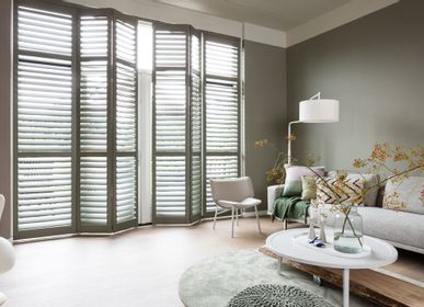 Curtains and window coverings - JASNO SHUTTERS - interior shutter with adjustable shutters in living, living room and dining room - JASNO