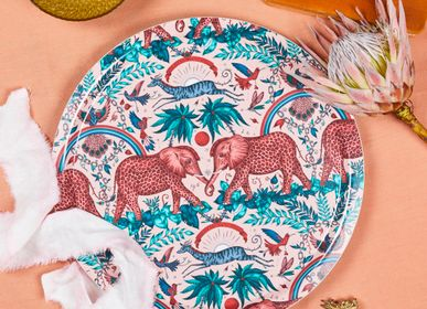 Trays - Zambezi/pink - Trays - Table mat - Placemat - coaster - JAMIDA OF SWEDEN
