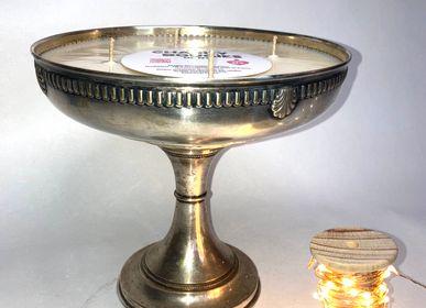 Objets de décoration - BOUGIE METAL XL et XXL  - CHARITY BOUGIES DE NY
