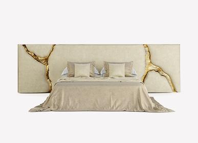 Tissus d'ameublement - Tête de lit LAPIAZ BLANC - BOCA DO LOBO