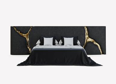 Tissus d'ameublement - LAPIAZ Tête de lit NOIR - BOCA DO LOBO