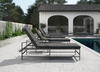 Beds - AGOSTO / Sunlounger - 10DEKA OUTDOOR FURNITURE