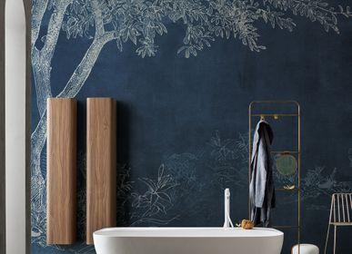 Wallpaper - Selva Blue Tree Panoramic Wallpaper - LA MAISON MURAEM