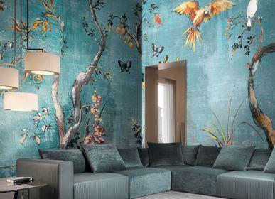 Papiers peints - Papier peint panoramique oiseaux Ibis  - LA MAISON MURAEM