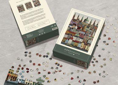 Children's games - Copenhagen jigsaw puzzle (1000 pieces) - MARTIN SCHWARTZ
