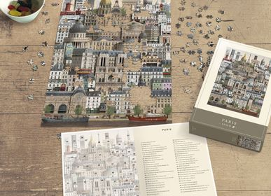 Gifts - Paris jigsaw puzzle (1000 pieces) - MARTIN SCHWARTZ