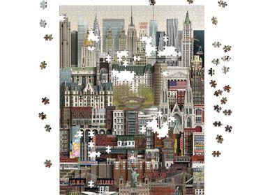 Gifts - New York jigsaw puzzle (1000 pieces) - MARTIN SCHWARTZ