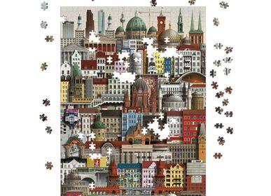 Cadeaux - Berlin jigsaw puzzle (1000 pièces) - MARTIN SCHWARTZ